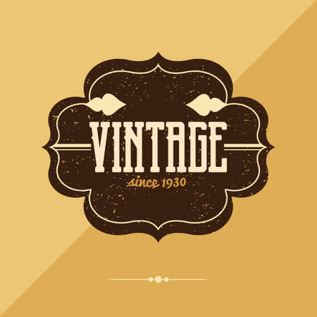 vendange: Label Vintage