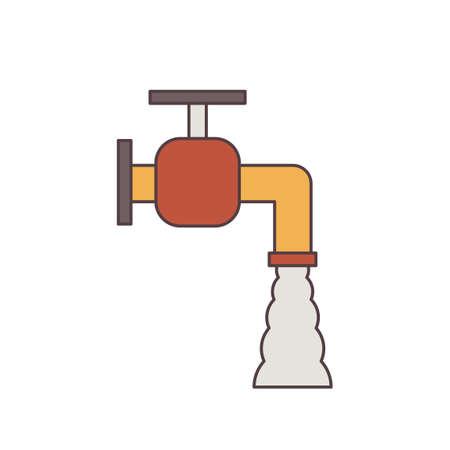 stopcock: Water tap