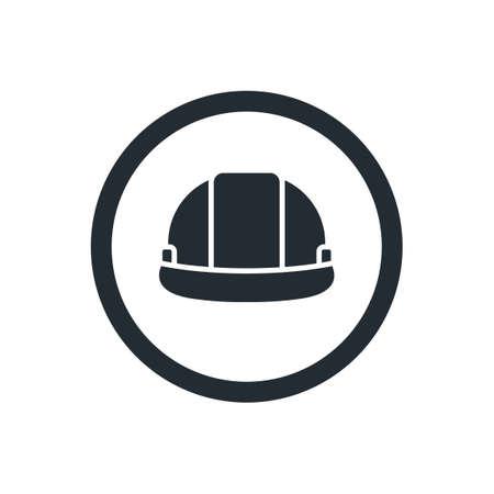 Hard hat icon Vetores