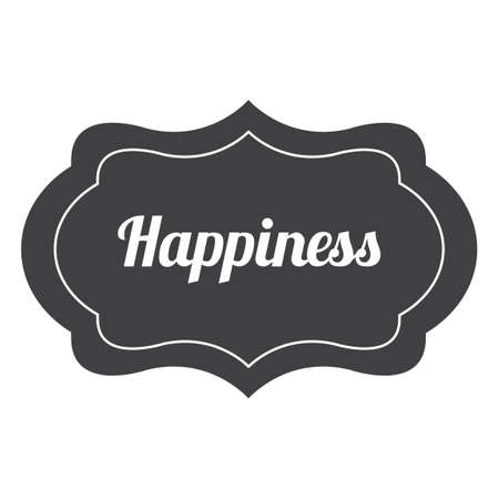 happiness: Happiness label