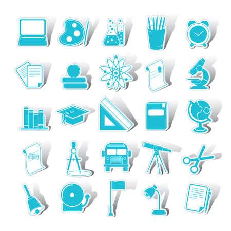 educational: Set of educational icons