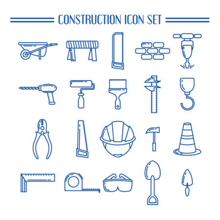 calliper: Collection of construction icons