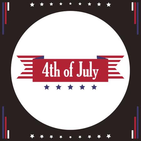 ribbon: Independence day ribbon