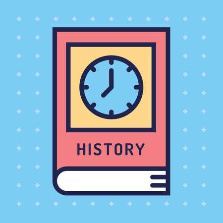 textbook: History textbook Illustration