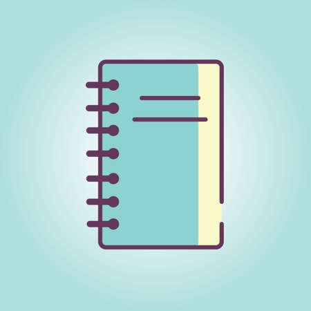 scribbling: Notepad Illustration
