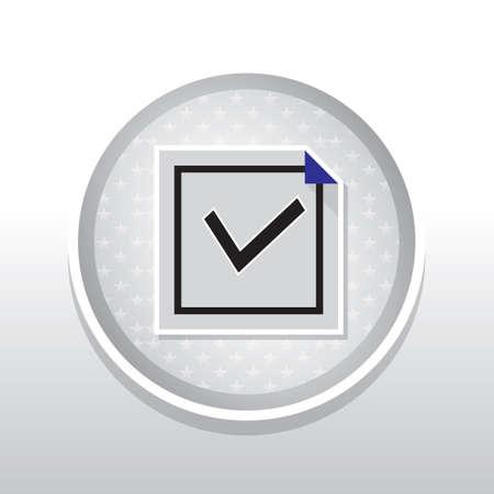right choice: Tick mark