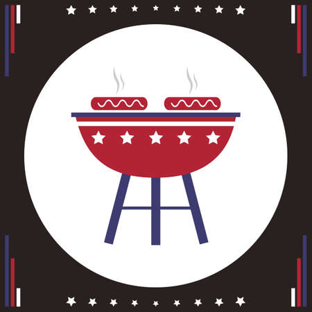 barbeque grill: Barbeque grill icon
