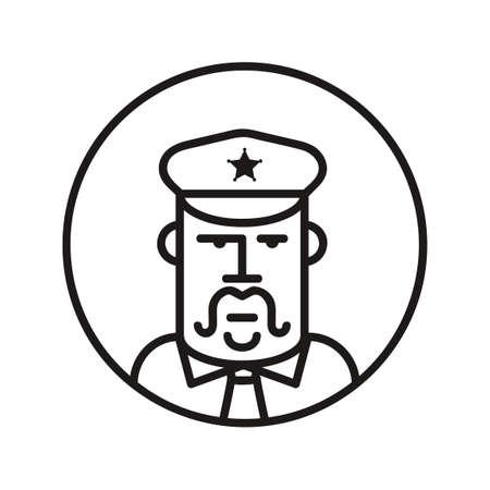 basic law: Policeman Illustration