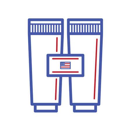 visions of america: Binocular