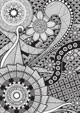 intricate: Intricate pattern design
