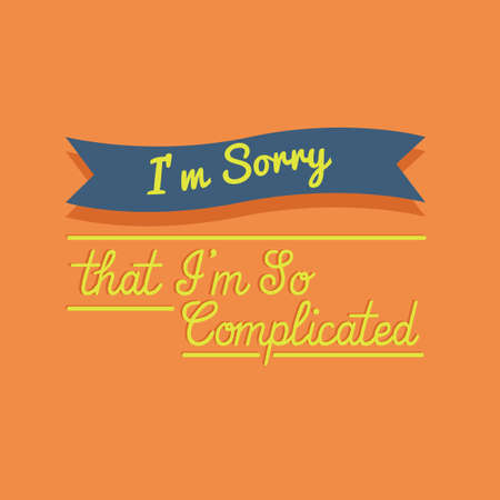 so that: Sorry quote Illustration