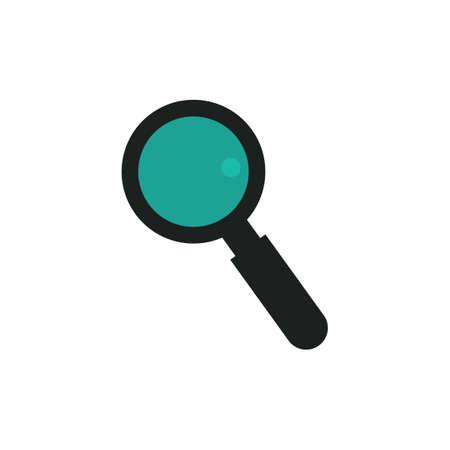 Magnifying glass Ilustração