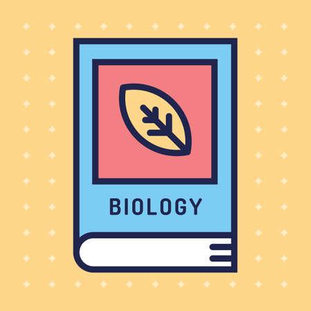 textbook: Biology textbook Illustration