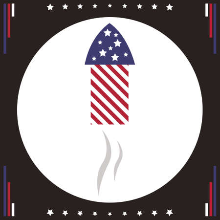 firecracker: Firecracker rocket icon