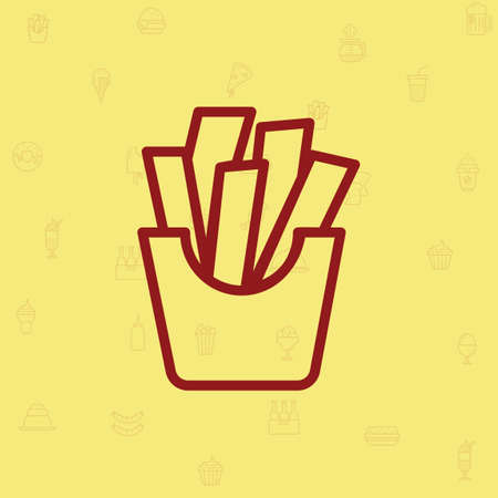 french fries: French fries