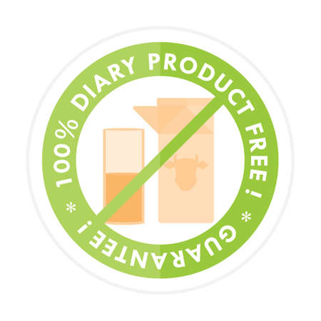 diary: Diary product free label Illustration