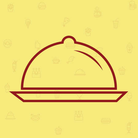 basic food: Cloche Illustration