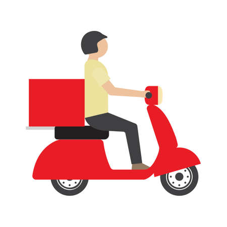 delivery boy: Delivery boy