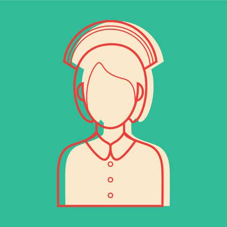 enfermera con cofia: Enfermera