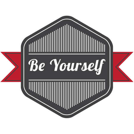Be yourself label