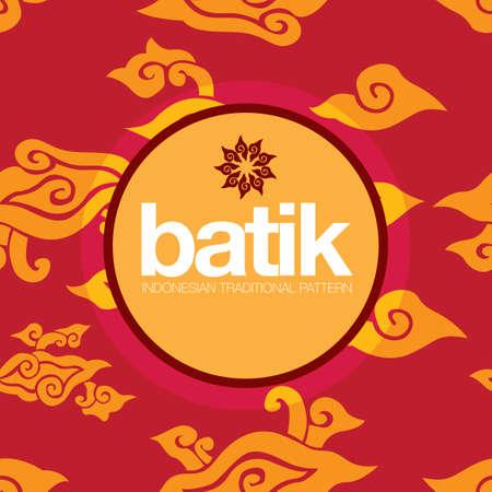 indonesisch: Indonesische traditionele patroon Stock Illustratie
