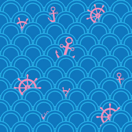 nautical pattern: Nautical pattern