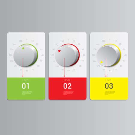 knob: Knob infographic Illustration