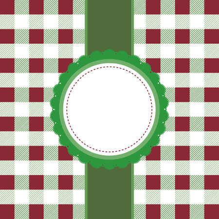 gingham: Gingham background with copyspace