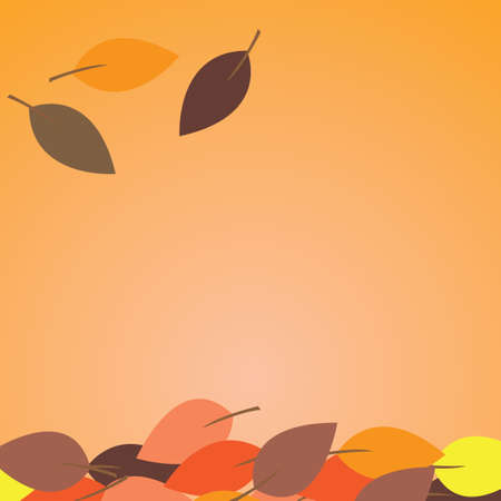 falling leaves: Falling leaves