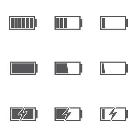 batteries: Set of batteries