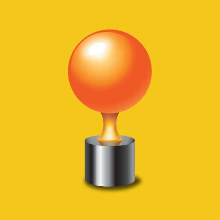 pong: Ping pong trophy Illustration