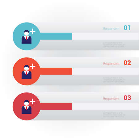 respondent: Infographic of respondent Illustration