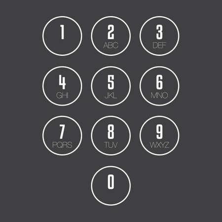 keypad: Keypad Illustration