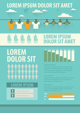 underclothes: Clothing infographic Illustration