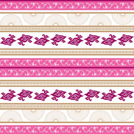horizontal: Horizontal pattern background