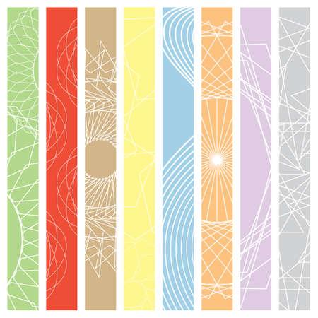 Skizzieren geometrische Design Hintergrundbild