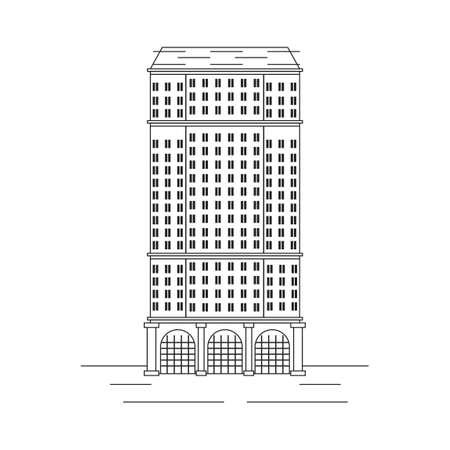 St. Regis hotel Ilustrace