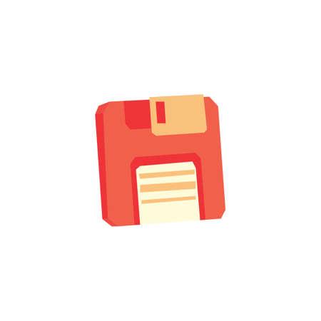 floppy: Floppy disk Illustration