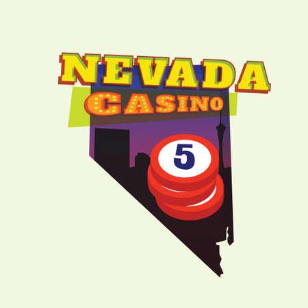 nevada: Nevada map
