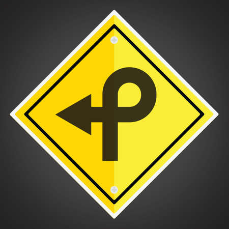 loop: Pretzel loop sign