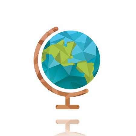 Wereldbol Stock Illustratie