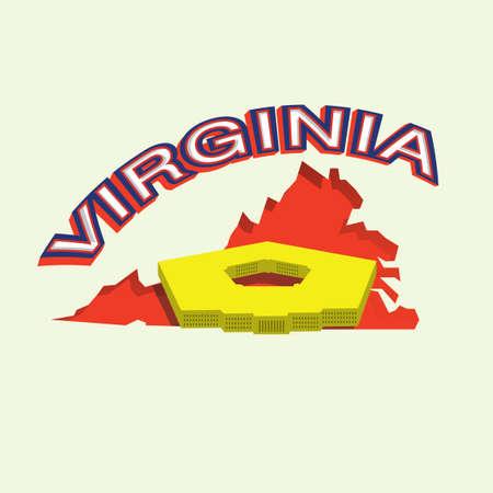 virginia: Virginia map