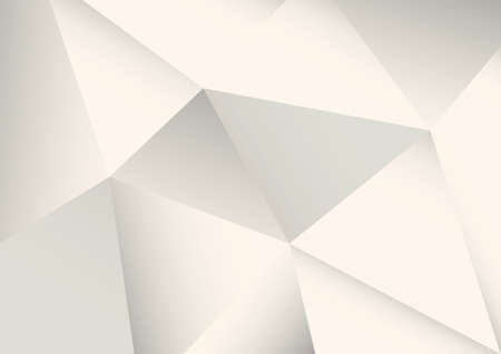 Abstract faceted white background
