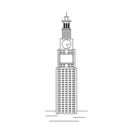 metropolitan: Metropolitan life insurance company tower Illustration