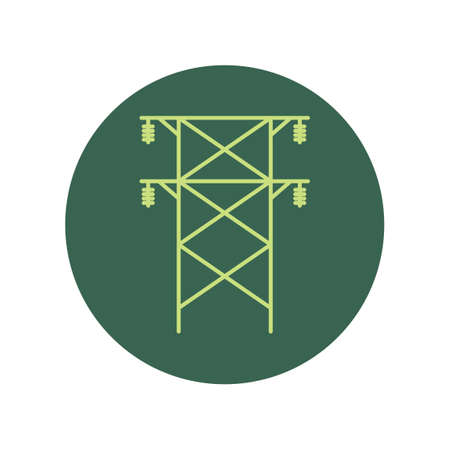 pylon: Electric pylon Illustration