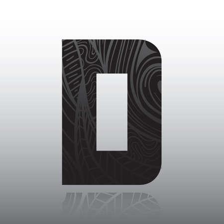 letter d: Letter D
