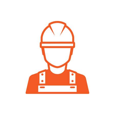 Travailleur de la construction icône Banque d'images - 43310080