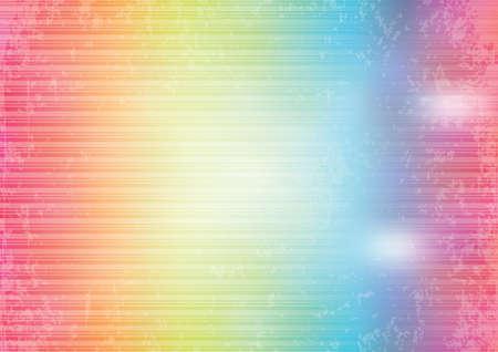rainbow colours: Colorful background Illustration