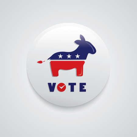 democracy: Democracy badge