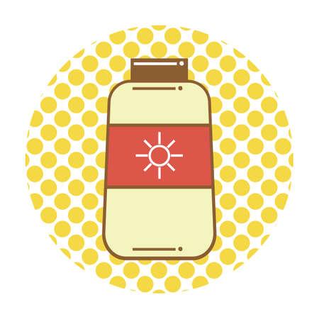 sunblock: Sunblock lotion